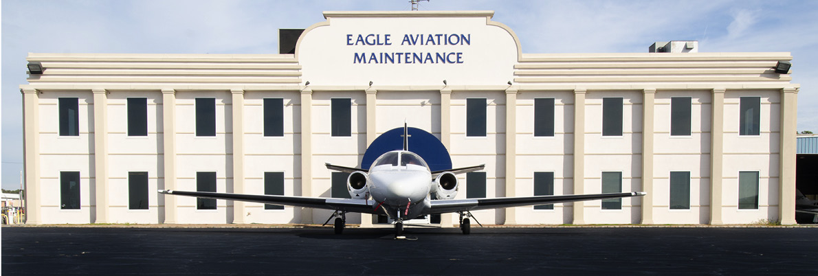 Eagle Aviation Maintenance Building