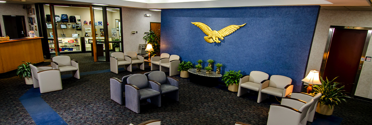 Eagle Aviation FBO KCAE Lobby