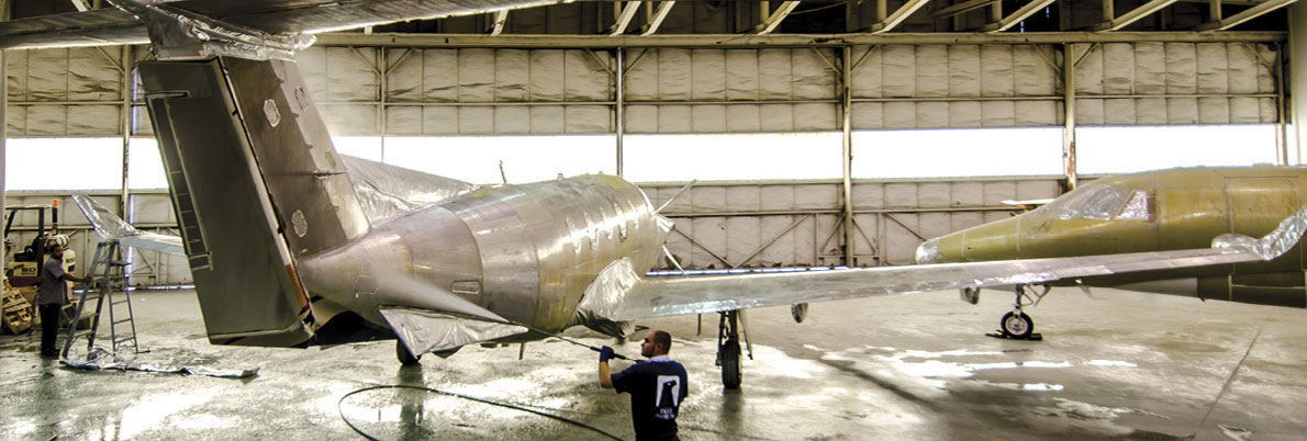 Eagle Aviation Exterior - Paint - Completions